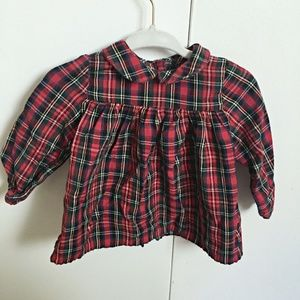 Baby Girl Blouse Shirt with collar